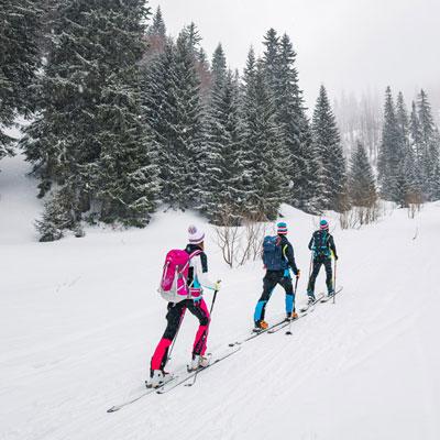 Kolekce Ski-touring – s lehkostí nahoru i dolů