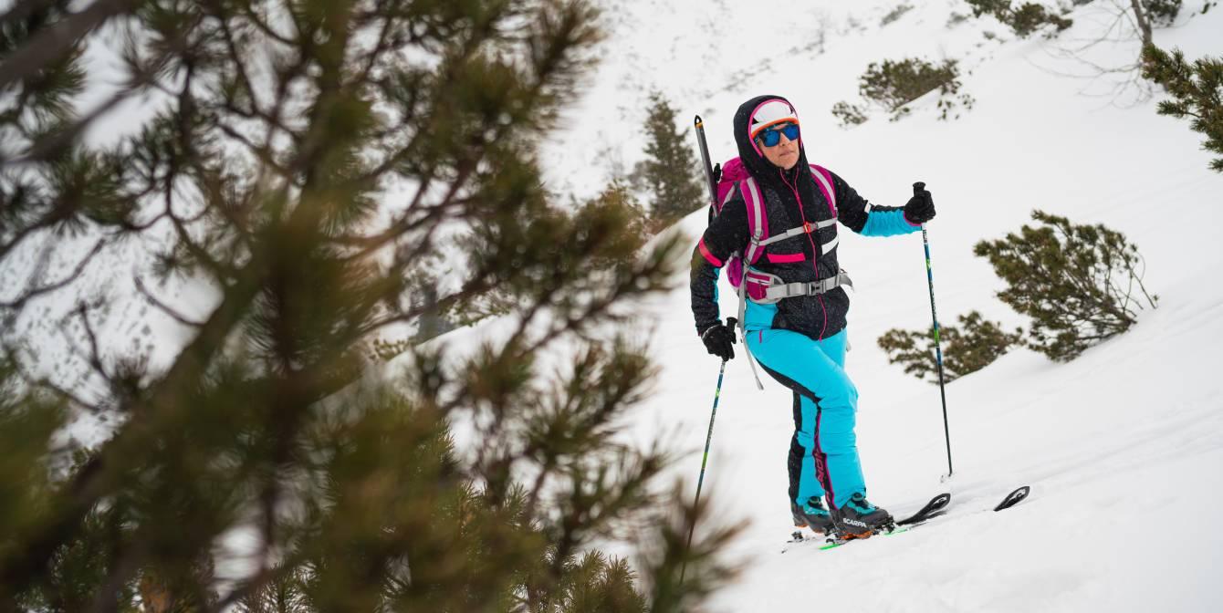 Dámska NORTHFINDER ski-touring kolekcia