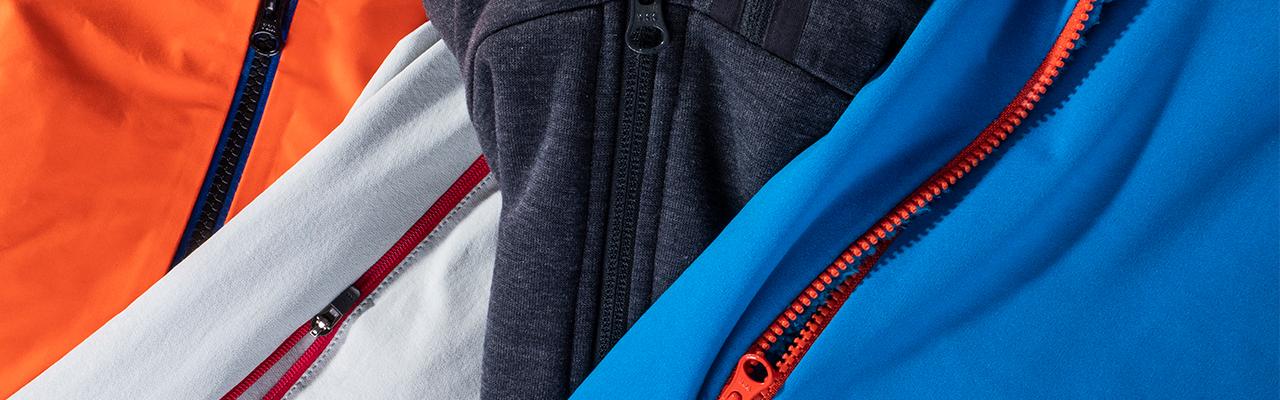 10 vecí o zipsoch v outdoorovom oblečení