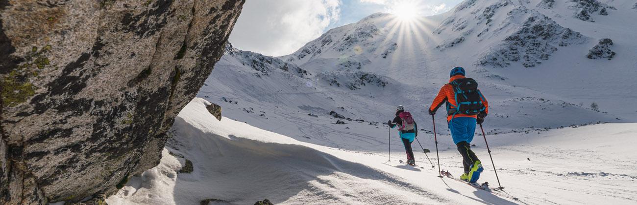 NORTHFINDER ski-touring oblečenie zblízka